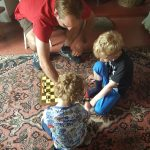 Spot of chess with an uncle