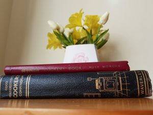 Leather bound cookbooks