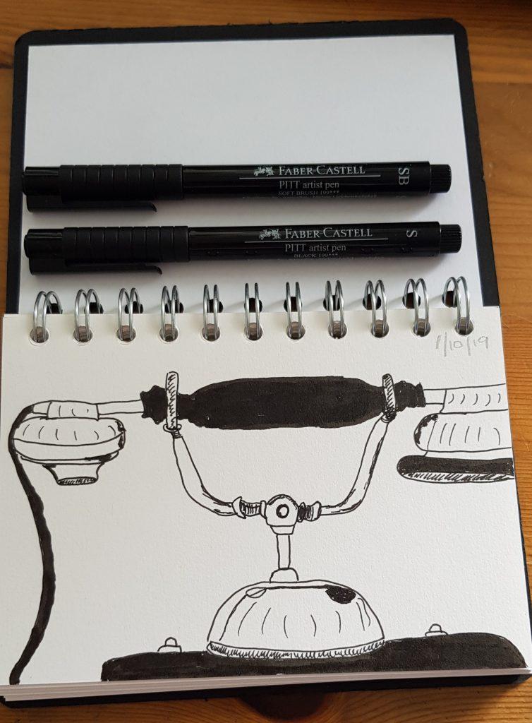 Day 1 Inktober drawing